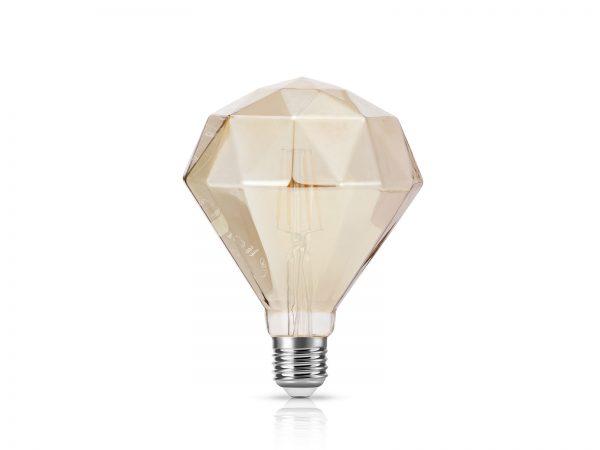 LED 鑽石型 燈絲燈膽 4W