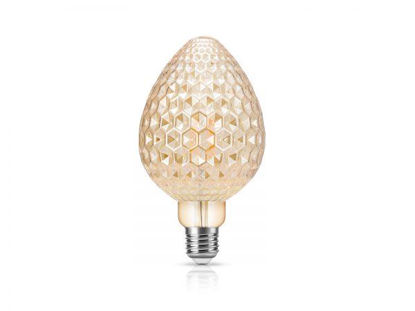 LED 蠟燭型 燈絲燈膽 4W