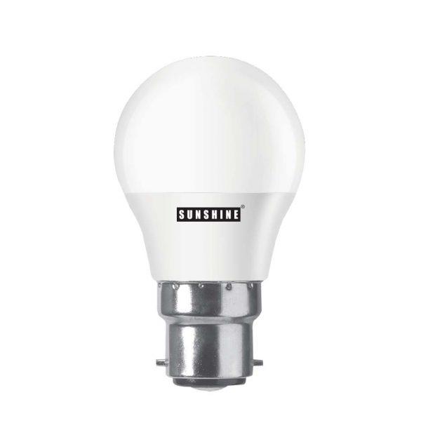 LED 燈膽 B22釘頭 5W 白光/黃光