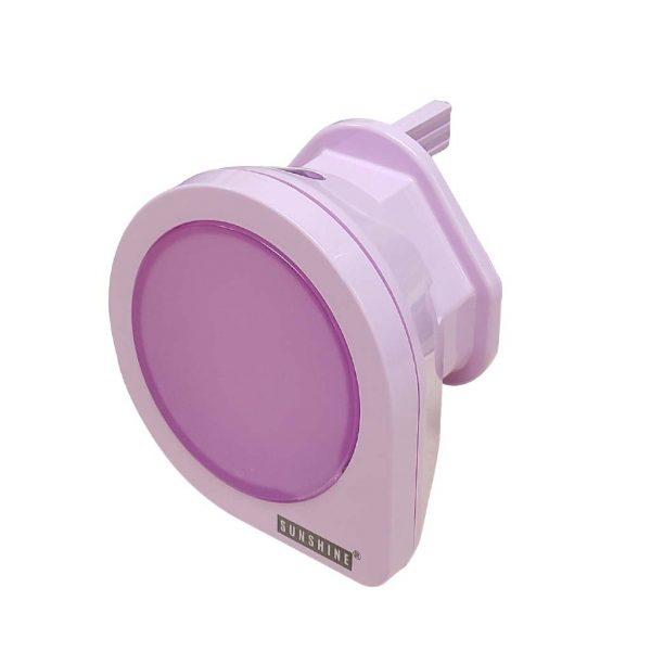 LED 光感小夜燈 (紫色)
