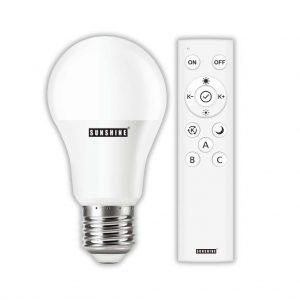 LED 燈膽 遙控球泡套裝